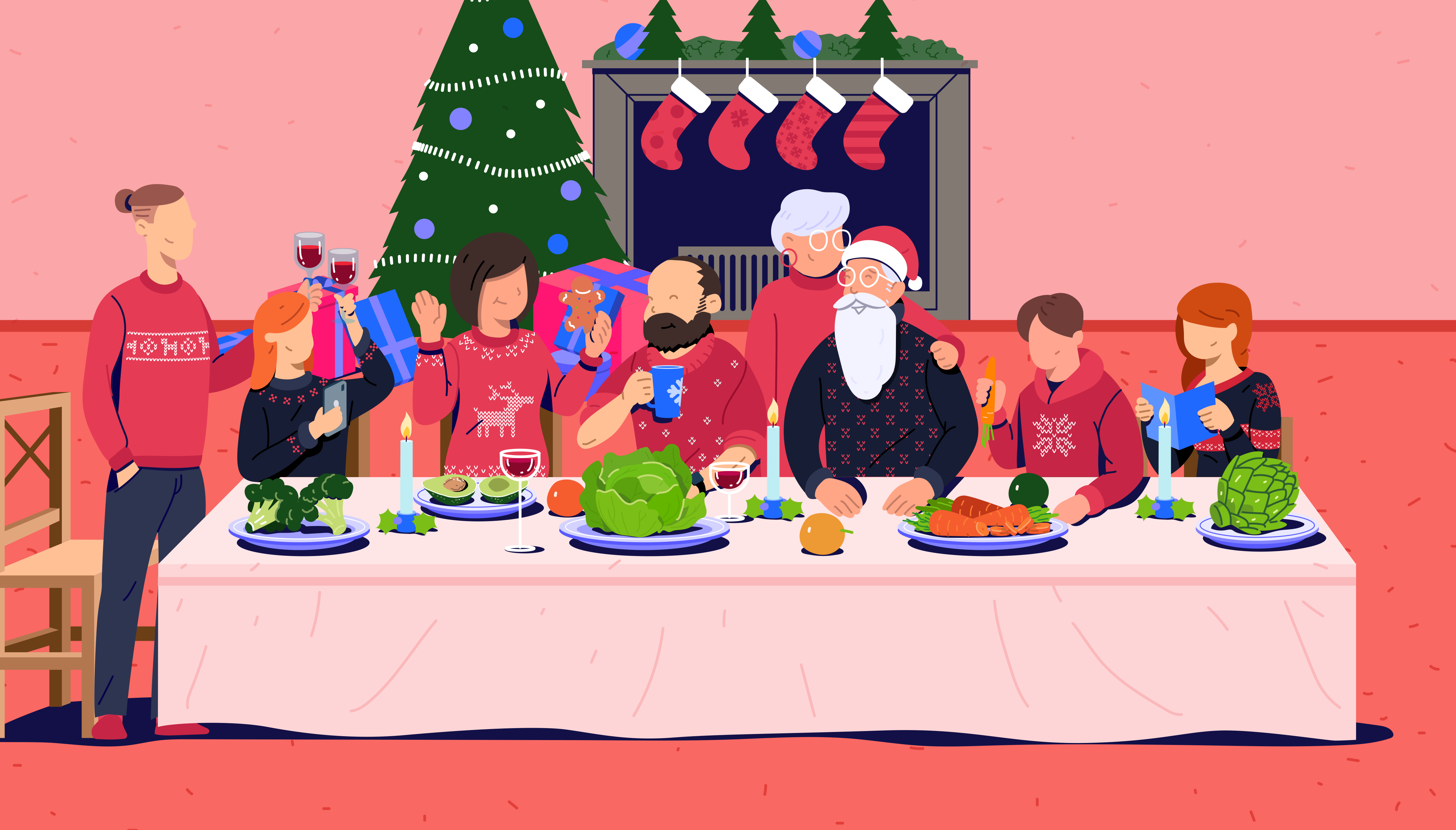 Meet the prebiotics in your Christmas dinner