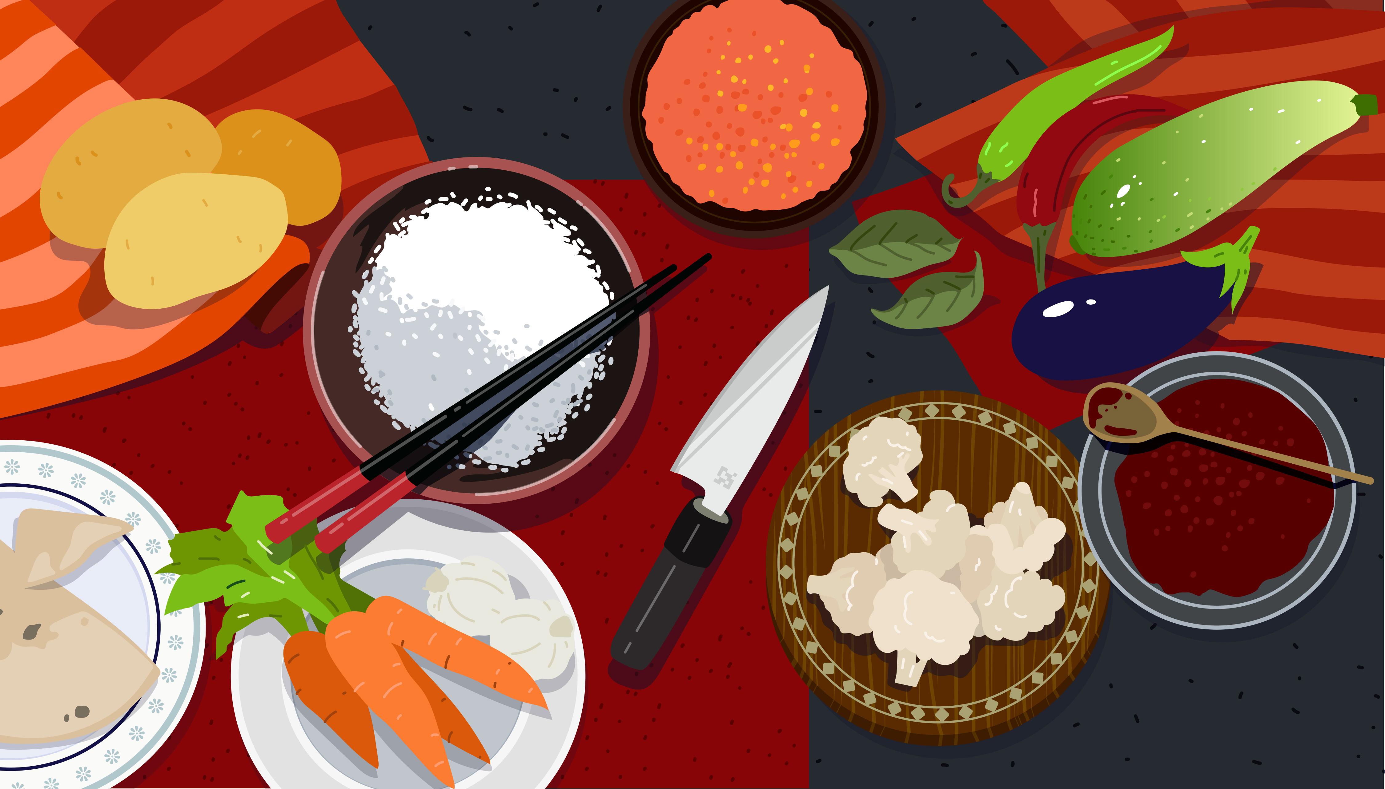 Prebiotic vegetable curry recipe