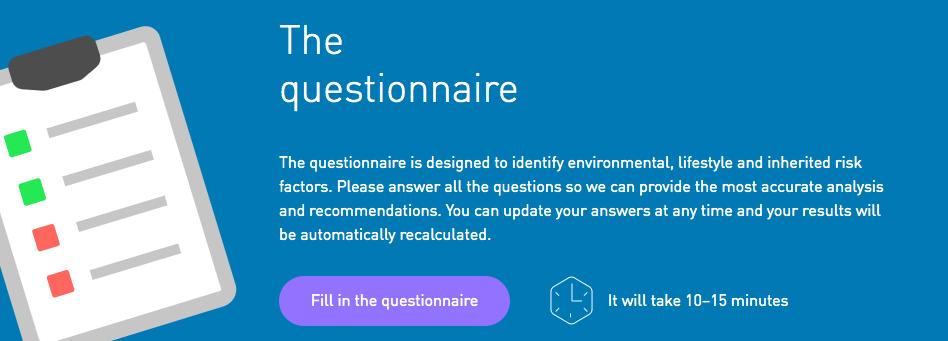 Health-questionnaire