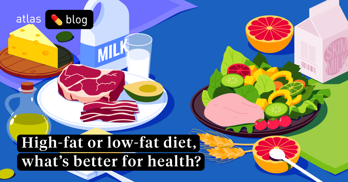 comparison high fat diets