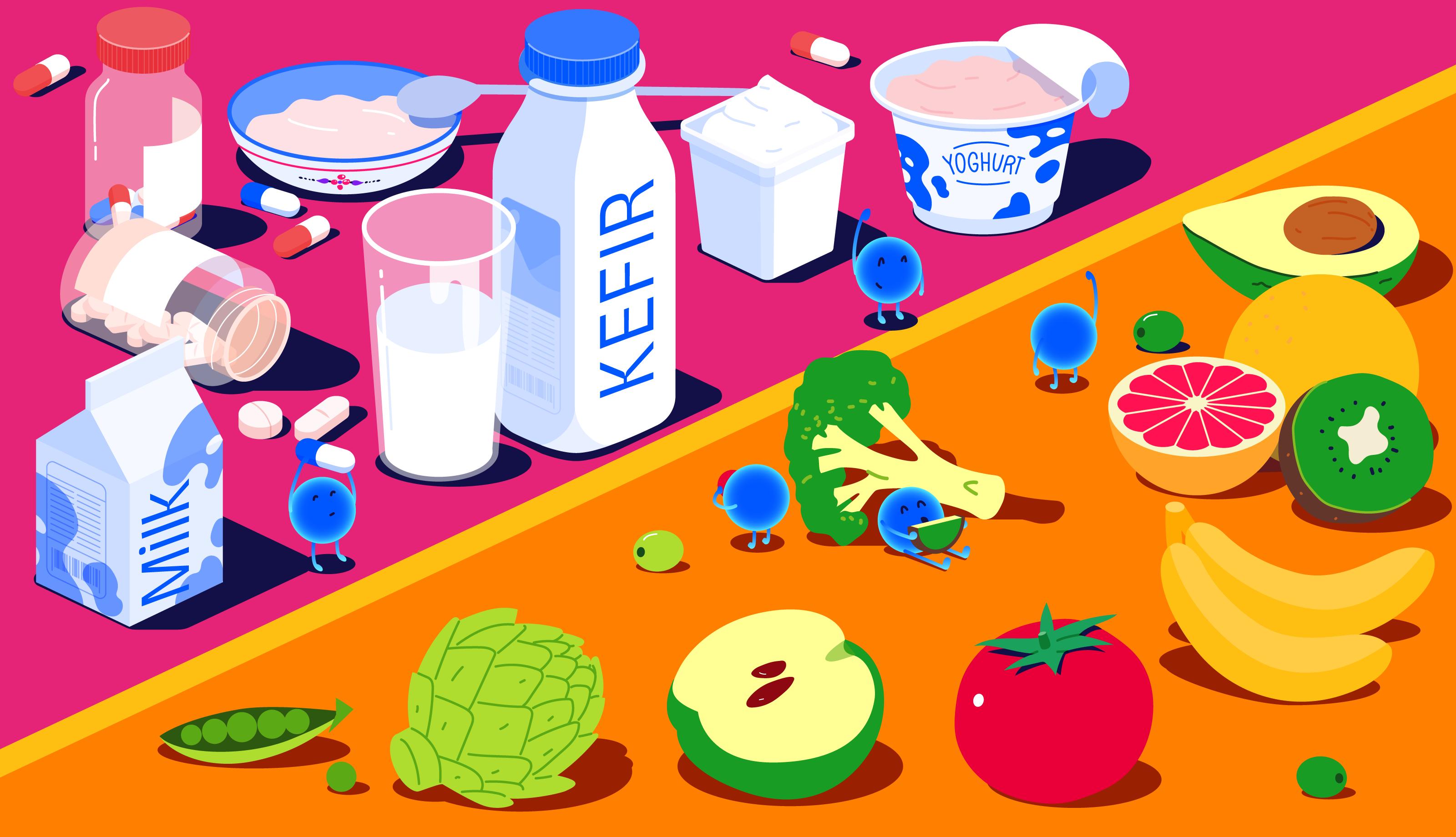 Probiotics-vs-Prebiotics