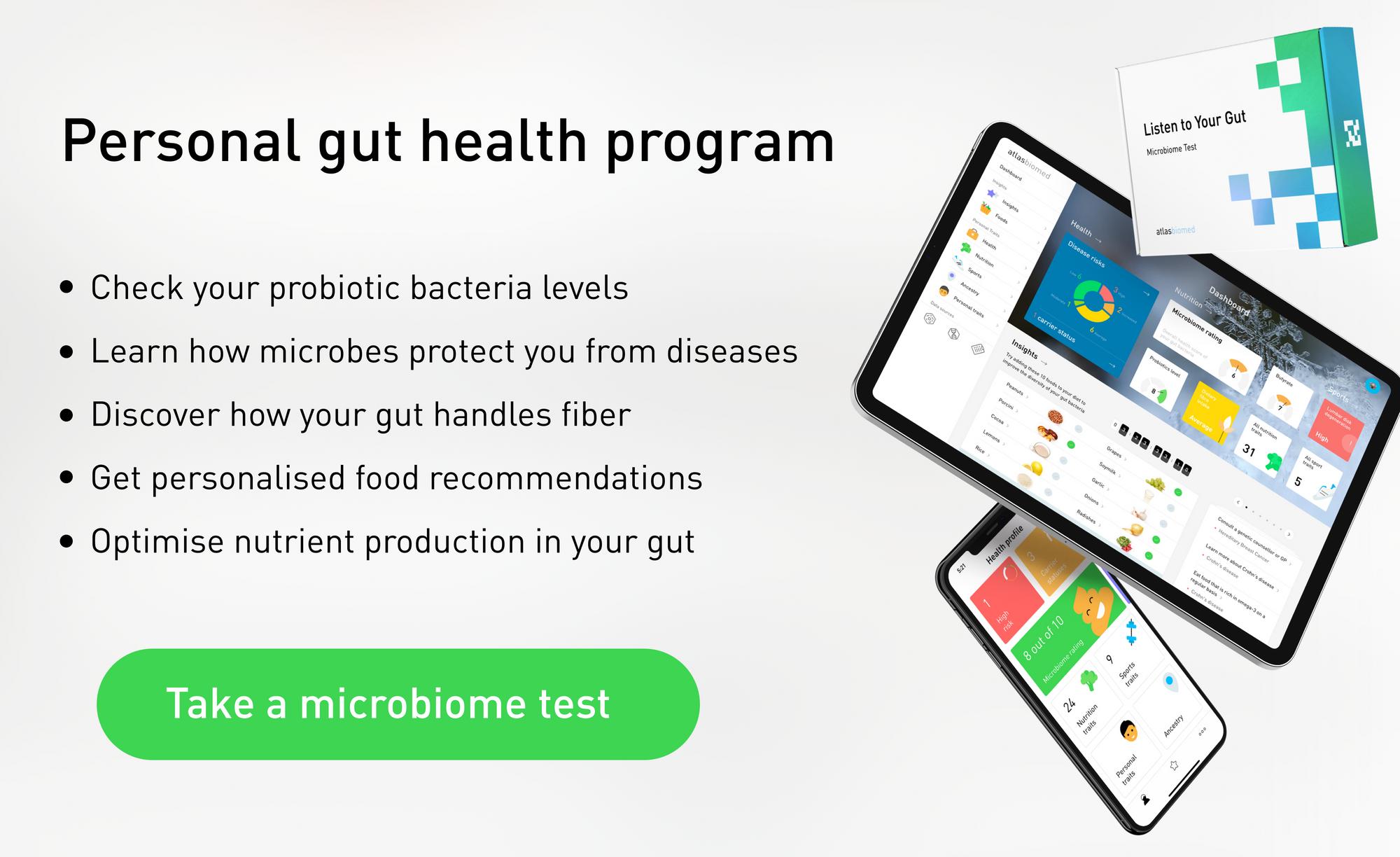 Atlas Microbiome Probiotics Test