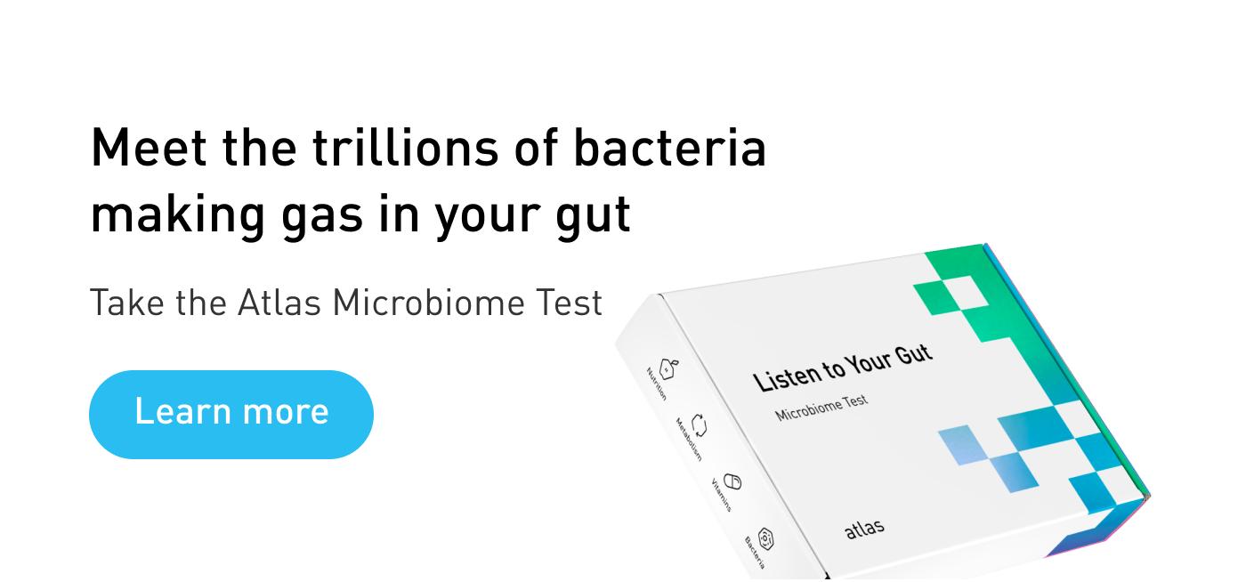 Atlas Microbiome Test for flatulence