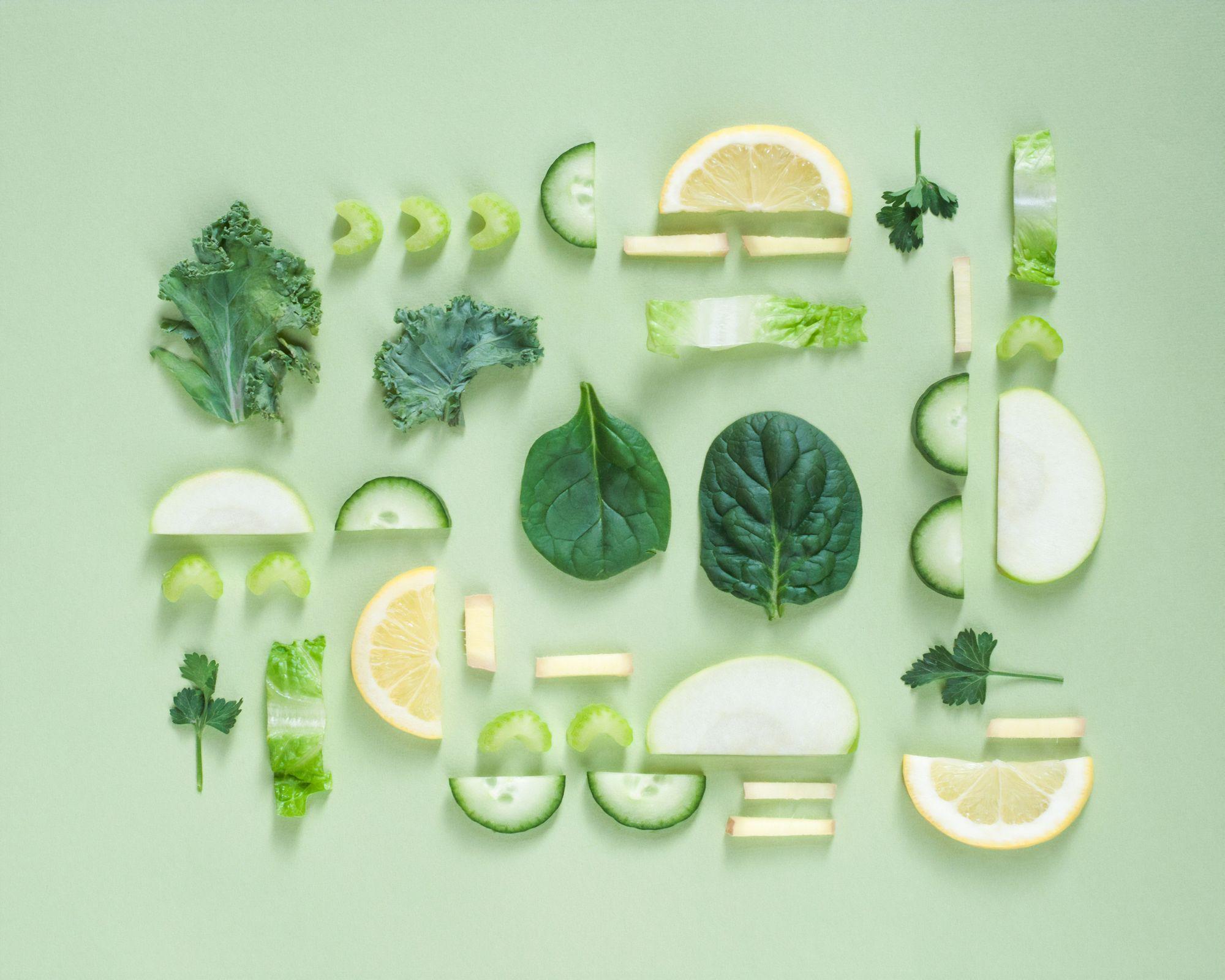 Vitamin K is abundant in green vegetables by Dose Juice for Unsplash.