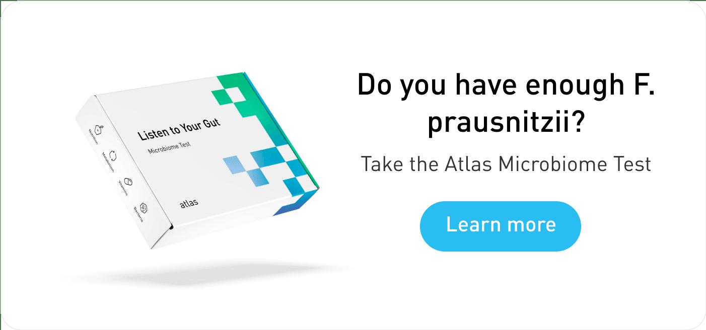 Atlas Microbiome Test for Faecalibacterium prausnitzii